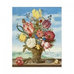 Puzzle-Michele-Wilson-A663-350 Wooden Jigsaw Puzzle - Ambrosius Bosschaert