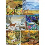 Puzzle-Michele-Wilson-A681-1800 6 Wooden Puzzles - Alain Thomas