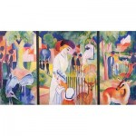 Puzzle-Michele-Wilson-A726-250 Wooden Puzzle - August Macke