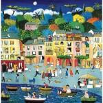Puzzle-Michele-Wilson-A737-350 Wooden Puzzle - Alessandra Puppo - Portofino