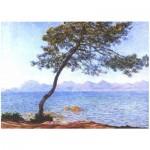 Puzzle-Michele-Wilson-A743-80 Hand-Cut Wooden Puzzle - Claude Monet - Cap d'Antibes