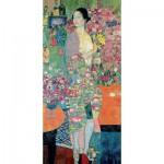 Puzzle-Michele-Wilson-A751-150 Hand-Cut Wooden Puzzle - Gustav Klimt - The dancer