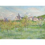 Puzzle-Michele-Wilson-A754-250 Hand-Cut Wooden Puzzle - Claude Monet - Spring in Giverny