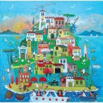 Puzzle-Michele-Wilson-A766-650 Hand-Cut Wooden Puzzle - Alessandra Puppo - Island Party