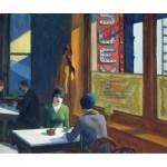 Puzzle-Michele-Wilson-A791-350 Hand-Cut Wooden Puzzle - Edward Hopper - Chop Suey