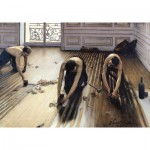 Puzzle-Michele-Wilson-A817-500 Jigsaw Puzzle - 500 Pieces - Art - Wooden - Caillebotte : The Floor Scrapers