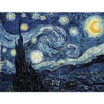 Puzzle-Michele-Wilson-A848-350 Jigsaw Puzzle - 350 Pieces - Art - Wooden - Van Gogh : Starry Night