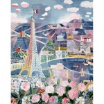 Puzzle-Michele-Wilson-A851-250 Jigsaw Puzzle - 250 Pieces - Art - Wooden - Dufy : Paris in Spring