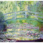 Puzzle-Michele-Wilson-A910-80 Jigsaw Puzzle - 80 Pieces - Art - Wooden - Monet : The Japanese Bridge