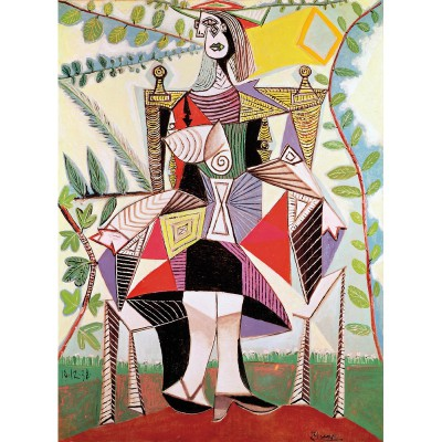 Puzzle-Michele-Wilson-A920-150 Jigsaw Puzzle - 150 Pieces - Art - Wooden - Picasso : Woman in the Garden