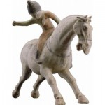 Puzzle-Michele-Wilson-A941-150 Jigsaw Puzzle - 150 Pieces - Art - Wooden - Chinese Art : The Polo Player