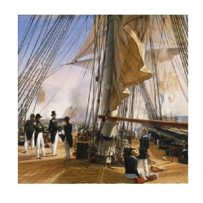 Puzzle-Michele-Wilson-A944-900 Jigsaw Puzzle - 900 Pieces - Art - Wooden - Vernet : The French Fleet