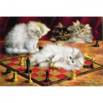 Puzzle-Michele-Wilson-A968-250 Jigsaw Puzzle - 250 Pieces - Art - Wooden - Talboys : Checkmate