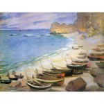Puzzle-Michele-Wilson-A970-250 Jigsaw Puzzle - 250 Pieces - Art - Wooden - Michele Wilson - Monet : Etretat
