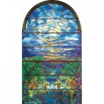 Puzzle-Michele-Wilson-A978-250 Jigsaw Puzzle - 250 Pieces - Art - Wooden - Tiffany Tainted Glass