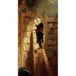 Puzzle-Michele-Wilson-A994-150 Jigsaw Puzzle - 150 Pieces - Art - Wooden - Spitzweg : The Bookworm