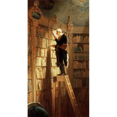 Puzzle-Michele-Wilson-A994-150 Jigsaw Puzzle - 150 Pieces - Art - Wooden - Spitzweg : The Bookworm