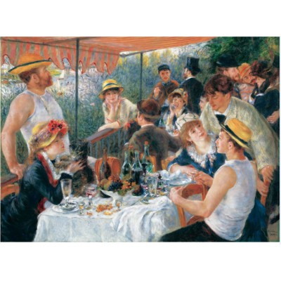 Puzzle Puzzle-Michele-Wilson-C35-250 Auguste Renoir: The Luncheon of the Boating