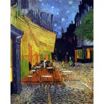 Puzzle-Michele-Wilson-C36-250 Jigsaw Puzzle - 250 Pieces - Art - Wooden - Van Gogh : Café Terrace at Night