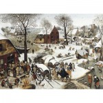 Puzzle-Michele-Wilson-C58-1500 Jigsaw Puzzle - 1500 Pieces - Art - Wooden - Bruegel : Numbering at Bethlehem