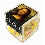 Puzzle-Michele-Wilson-Cuzzle-Z103 Wooden Puzzle - Cube - Leonardo da Vinci: Mona Lisa