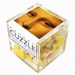 Puzzle-Michele-Wilson-Cuzzle-Z105 Wooden Puzzle - Cube - Leonardo da Vinci: Mysterious Mona Lisa