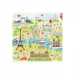 Puzzle-Michele-Wilson-Cuzzle-Z12 Wooden Puzzle - Collection Paris: Illustrated Paris