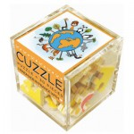 Puzzle-Michele-Wilson-Cuzzle-Z49 Wooden Puzzle -Cube - It is still time