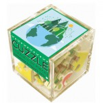 Puzzle-Michele-Wilson-Cuzzle-Z50 Wooden Puzzle - Cube - Green Energy