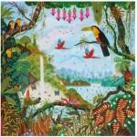 Puzzle-Michele-Wilson-Cuzzle-Z88 Wooden Jigsaw Puzzle - Alain Thomas: Eden Garden