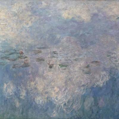 Puzzle-Michele-Wilson-Cuzzle-Z98 Hand-Cut Wooden Puzzle - Claude Monet - The Clouds