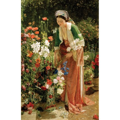 Puzzle-Michele-Wilson-H204-200 Jigsaw Puzzle - 200 Pieces - Art - Wooden - Michele Wilson - Lewis : In the Garden