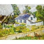 Puzzle-Michele-Wilson-H218-300 Wooden Jigsaw Puzzle - Vincent Van Gogh - Auvers