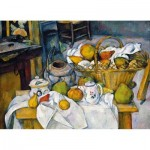Hand-Cut Wooden Puzzle - Paul Cézanne - Still Life