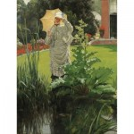Hand-Cut Wooden Puzzle - Tissot - Spring Morning