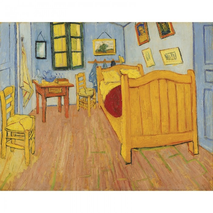 Hand-Cut Wooden Puzzle - Vincent Van Gogh - The room in Arles