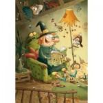 Puzzle-Michele-Wilson-K106-24 Hand-Cut Wooden Puzzle - Valerie Michaut - Gorbine & Monstrocalm
