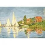 Puzzle-Michele-Wilson-K452-50 Hand-Cut Wooden Puzzle - Claude Monet