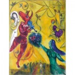 Puzzle-Michele-Wilson-K64-12 Hand-Cut Wooden Puzzle - Chagall