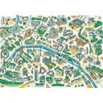 Puzzle-Michele-Wilson-K685-100 Wooden Puzzle - Paris Labyrinths