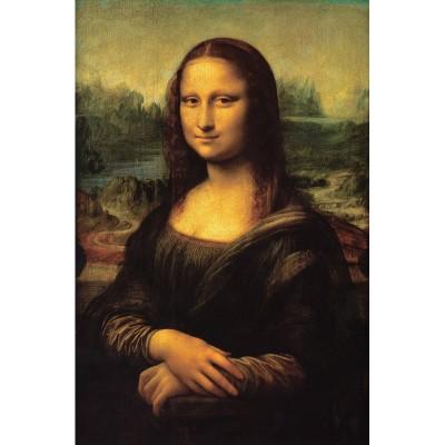 Puzzle-Michele-Wilson-K739-50 Hand-Cut Wooden Puzzle - Leonardo da Vinci - Mona Lisa