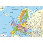 Puzzle-Michele-Wilson-K74-50 Wooden Puzzle - Map of Europe