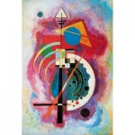 Puzzle-Michele-Wilson-K79-12 Hand-Cut Wooden Puzzle - Kandinsky