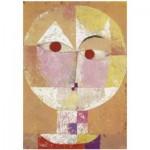 Puzzle-Michele-Wilson-K795-12 Hand-Cut Wooden Puzzle - Paul Klee - Senecio