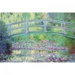 Puzzle-Michele-Wilson-K910-24 Hand-Cut Wooden Puzzle - Claude Monet - The Japanese Bridge
