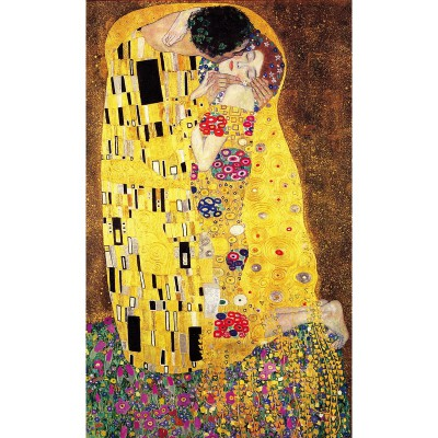 Puzzle-Michele-Wilson-P108-1000 Jigsaw Puzzle - 1000 Pieces - Art - Wooden - Klimt : The Kiss