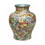 Puzzle-Michele-Wilson-P130-250 Wooden Jigsaw Puzzle - Chinese Art: Vase