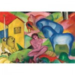 Puzzle-Michele-Wilson-S160-24 Wooden Puzzle - Franz Marc - The Dream