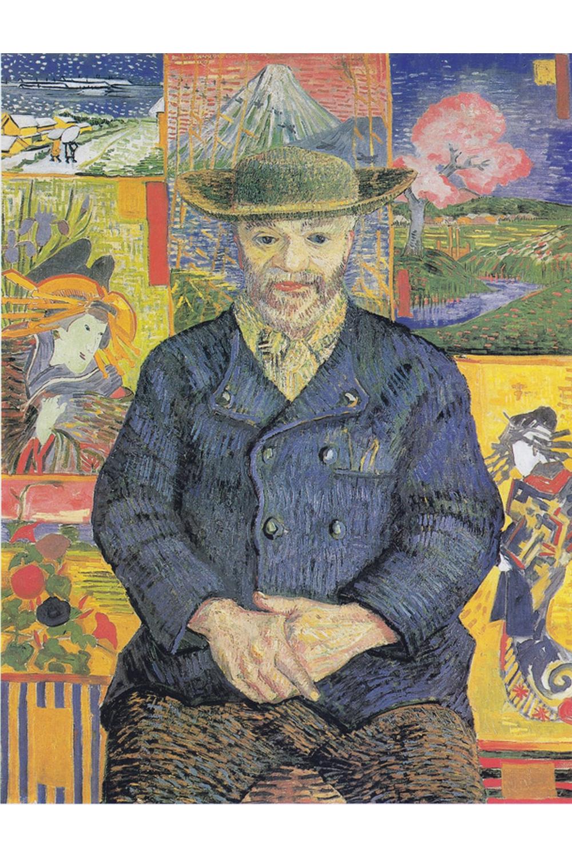 Van Gogh Vincent - Portrait of Père Tanguy, 1887 350 piece jigsaw puzzle