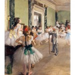 Puzzle-Michele-Wilson-W015-50 Jigsaw Puzzle - 50 Pieces - Wooden - Art - Degas : The Dance Class
